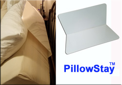 PillowStay Adjustable Bed Pillow Keeper Pillow Stay Pillow Support